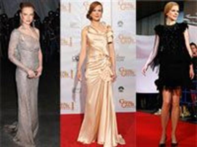 Kırmızı halının zarif yıldızı: Nicole Kidman